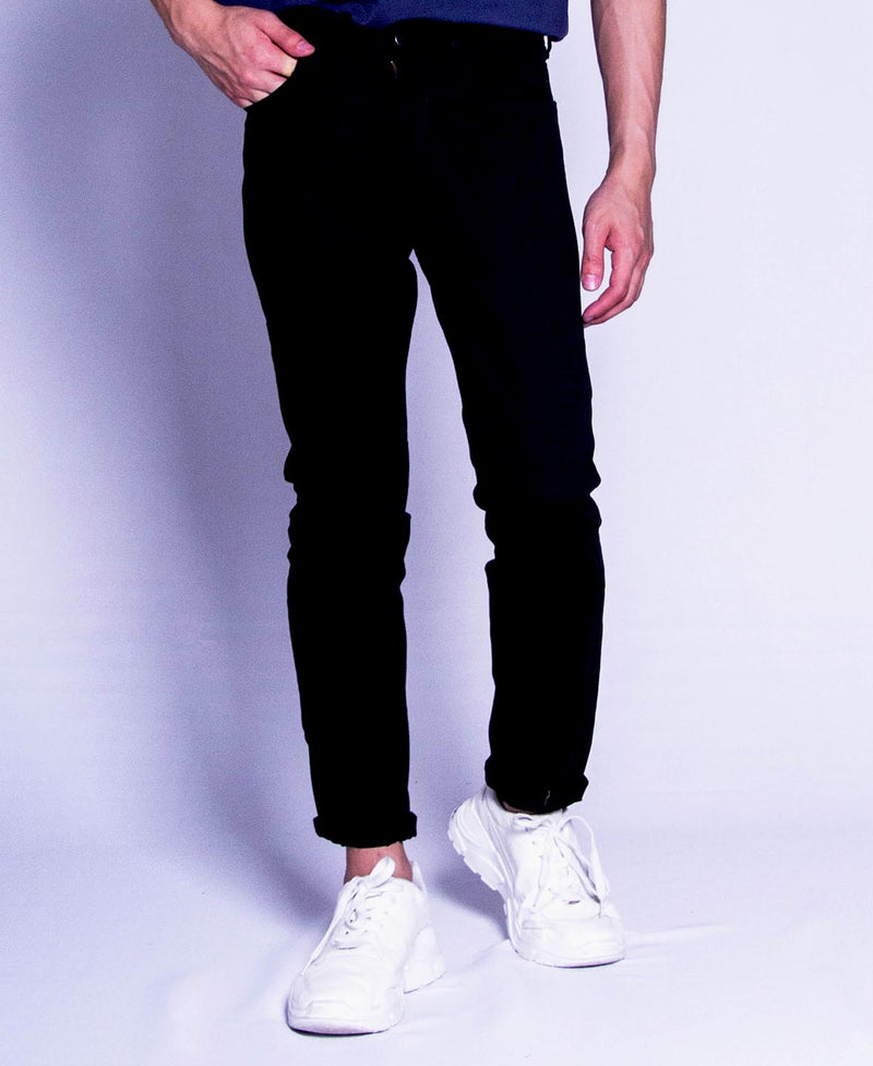 Men Long Pants - Black