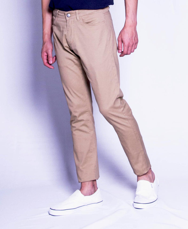 Men Long Pants - Khaki