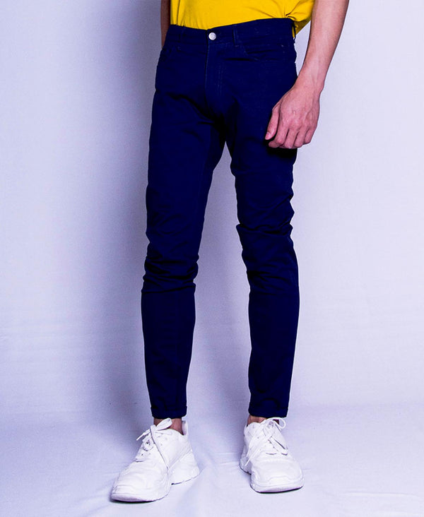 Men Long Pants - Navy