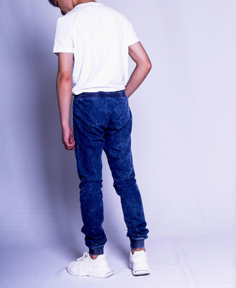 Men Long Pants Jogger - Navy
