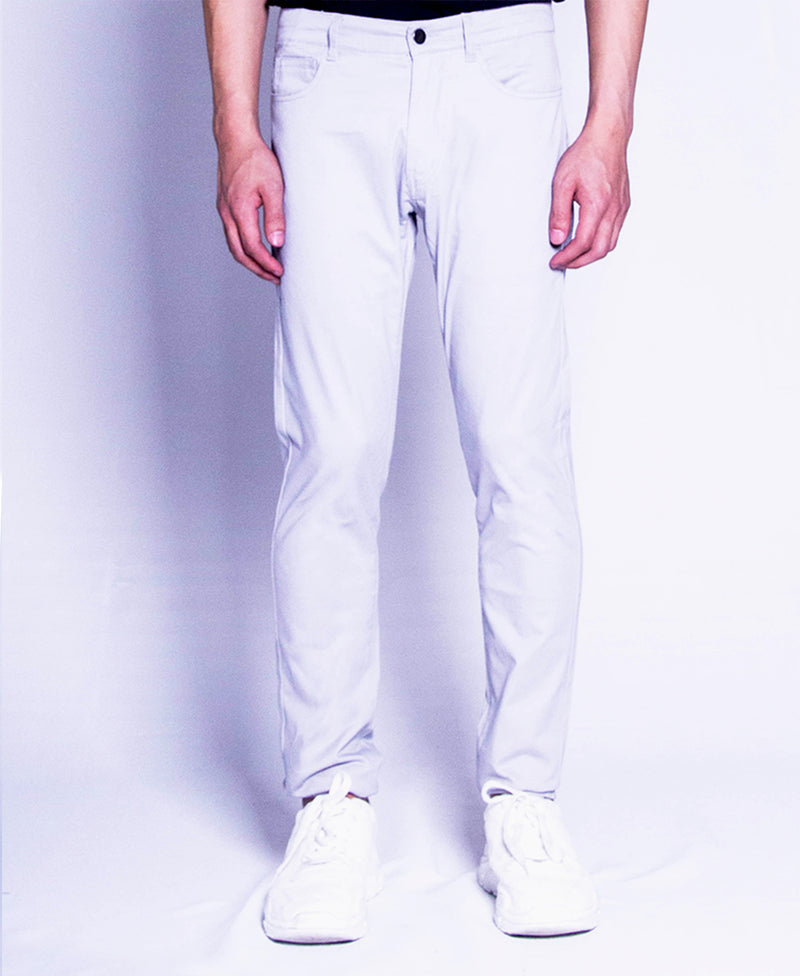 Men Long Pants - Light Grey - F9M071