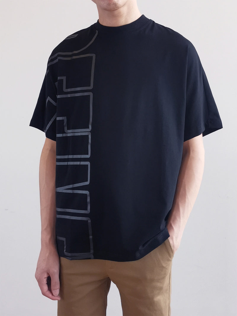 Men Fashion Tee- Black