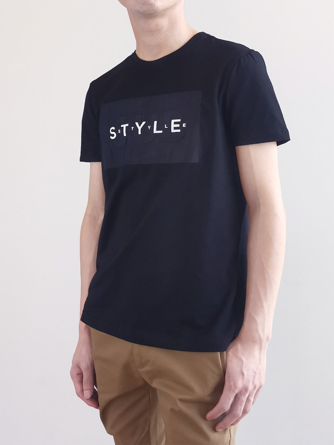 Graphic Tee- Black