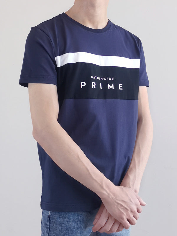 Short Sleeve Graphic Tee - Navy