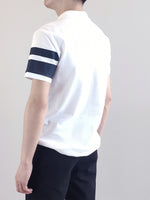 Load image into Gallery viewer, Fashion Polo Tee- White