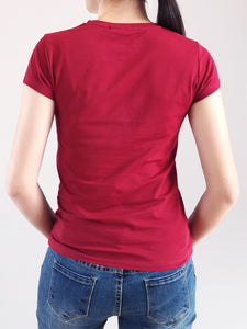 Graphic Tee- Red