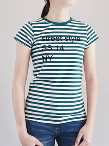 Graphic Tee- Green