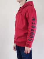 Load image into Gallery viewer, Oversized Hoodie- Dark Red