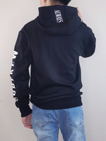 Load image into Gallery viewer, Oversized Hoodie- Black