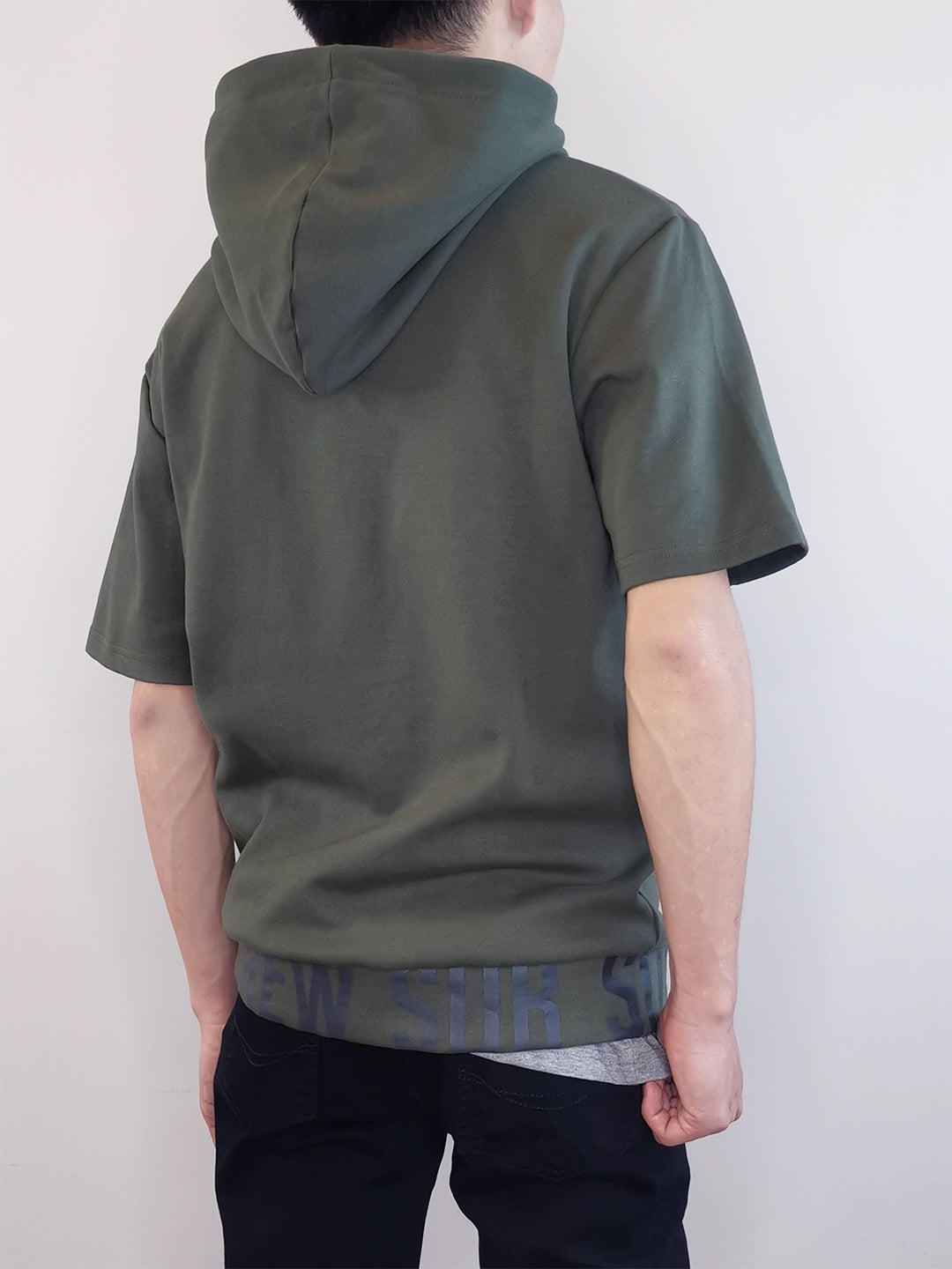 Oversized Hoodie- Army Green