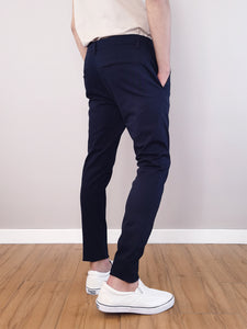 Slim Fit Chinos- Navy