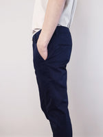 Load image into Gallery viewer, Slim Fit Chinos- Navy