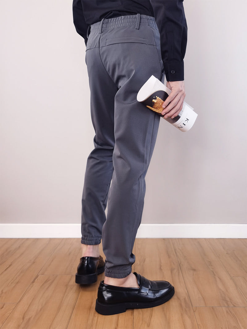 Men Basic Jogger- Grey