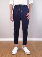 Load image into Gallery viewer, Slim Fit Jogger- Navy