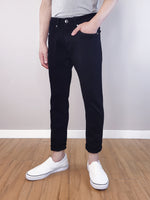Load image into Gallery viewer, Long Jeans Skinny Fit - Black