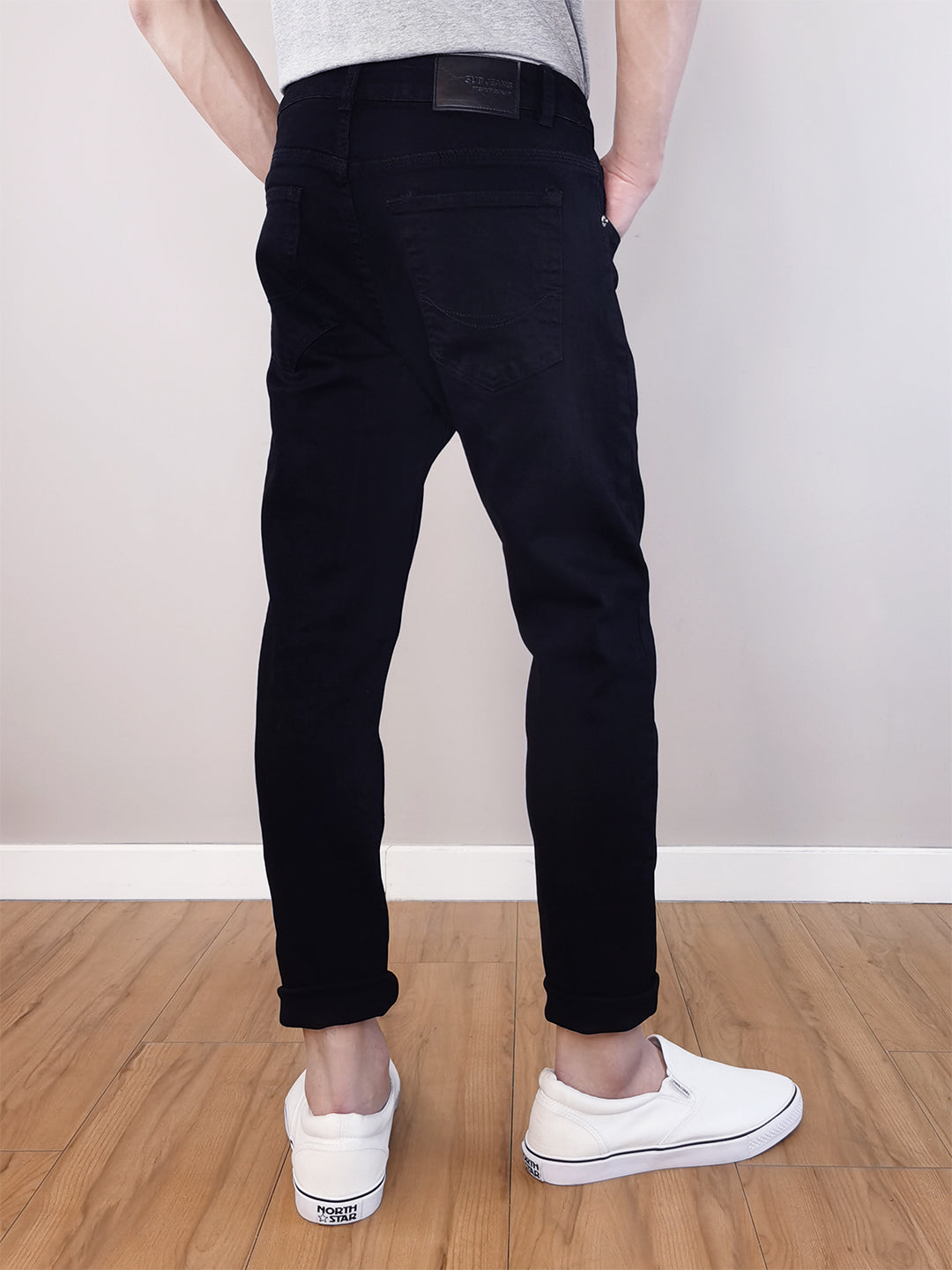 Long Jeans Skinny Fit - Black