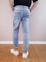 Load image into Gallery viewer, Slim Fit Jeans-Light Blue