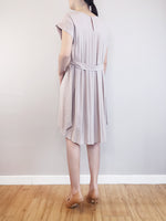 Load image into Gallery viewer, Pleated Detail Dress -Grey