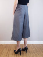 Load image into Gallery viewer, Wide-Leg Trousers-Grey