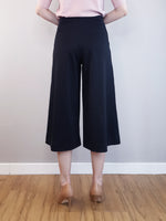 Load image into Gallery viewer, Culotte Trousers-Black