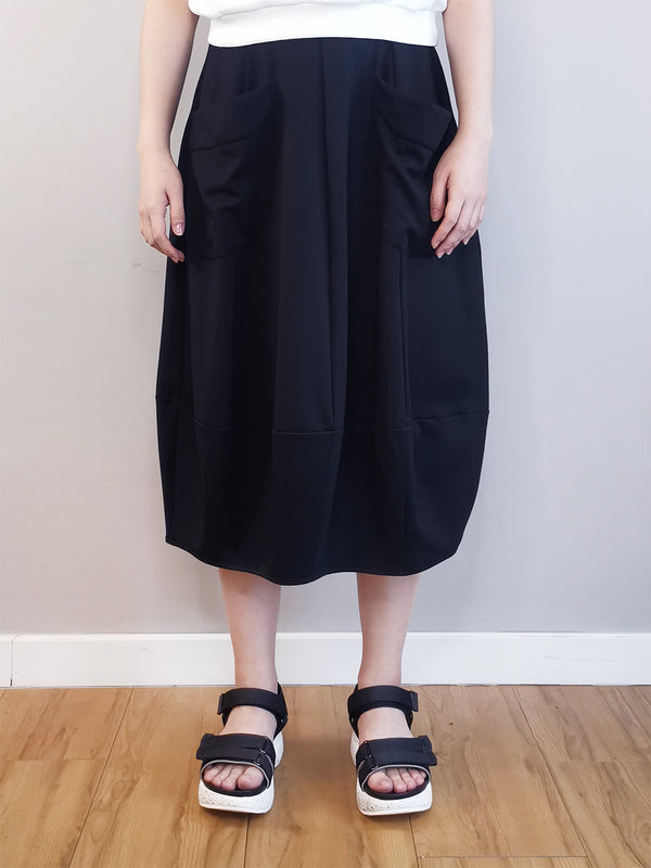 Women Long Skirt - Black