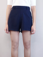 Load image into Gallery viewer, Elastic Shorts-Navy