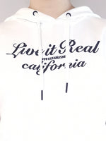 Load image into Gallery viewer, Sleeveless Sweatshirt Hoodie - White