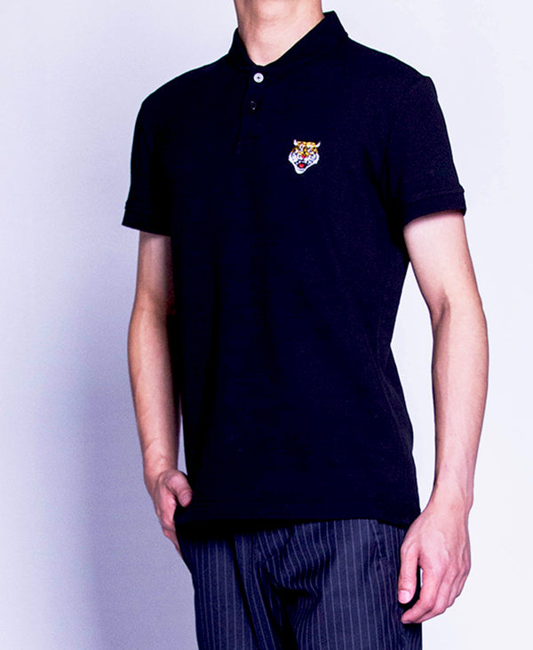 Men Polo Tee - Black