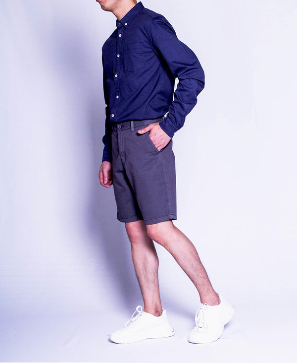 Men Short Pants - Light Grey