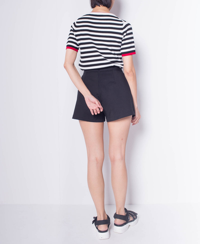 Women Wrap Skort - Black