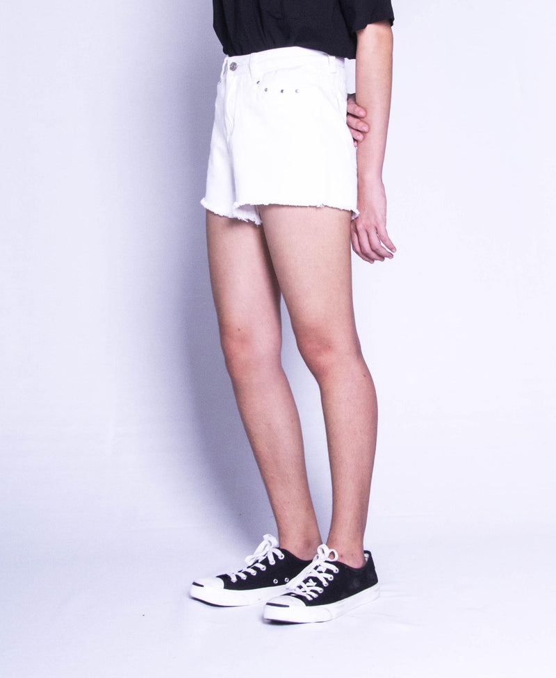 Women Short Pant - White