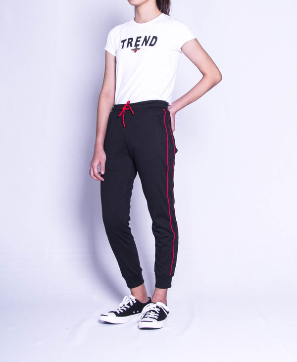 Women Long Jogger - Black
