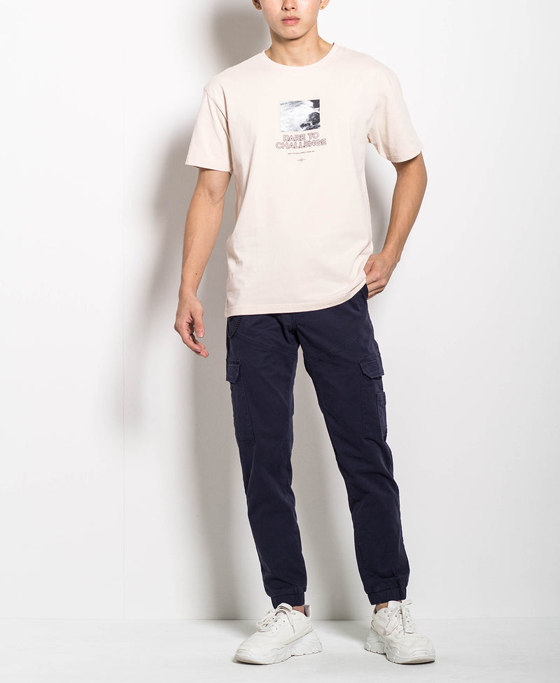 Men Fashion Tee - Khaki