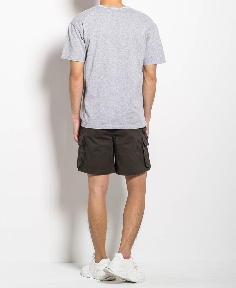 Men Oversized Fashion Tee - Grey - M0M564