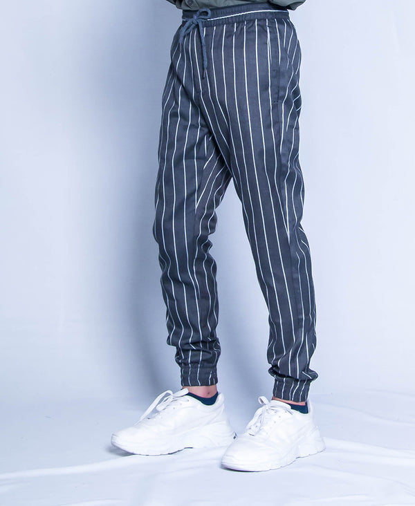 Men Long Jogger - Grey
