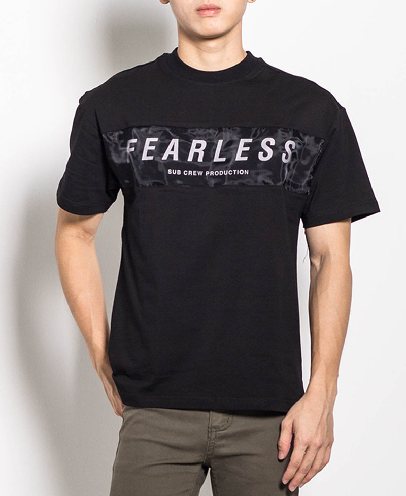 Men Fashion Tee - Black