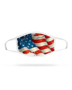 Face Mask - Rustic Flag (4 pack)