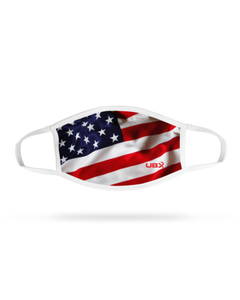 Face Mask - Wavy Flag (4 pack)
