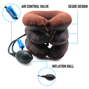 NeckRelief™ Inflatable Cervical Neck Traction Device