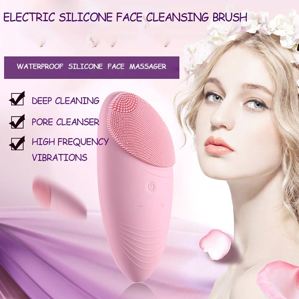 Waterproof Deep Facial Cleansing Brush