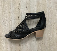 Gamins Bollie Blk - Emelda's Shoes