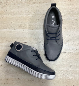 Cabello Usher Grey - Emelda's Shoes