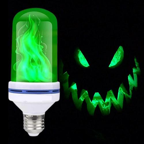 Halloween LED Gravity Effect Fire Light Bulbs