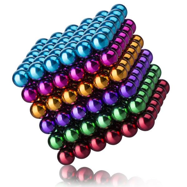 Buckyballs Magnetic Ball Sculpture Toys for Intelligence Development and Stress Relief (5MM Set of 216 Balls)