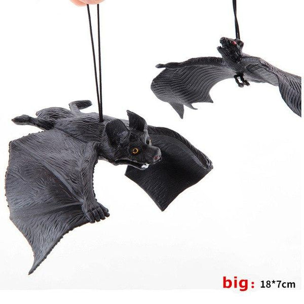 Bat Movie Prop Halloween Joke Fake Lifelike Bat Cosplay Accessories