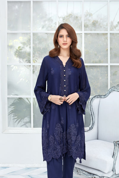 Navy Binge - Formal 1pc - leftover.pk