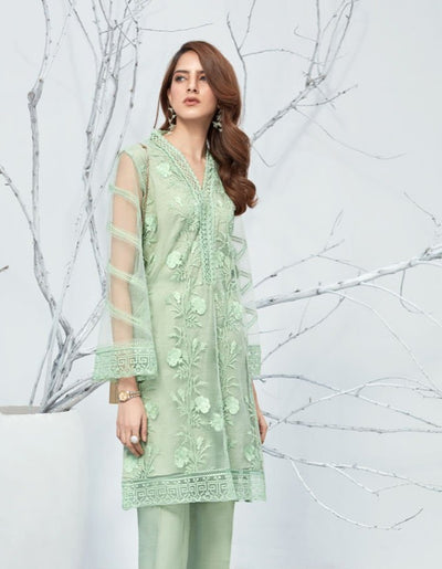 Mint Glimmer - Formal 1PC - leftover.pk