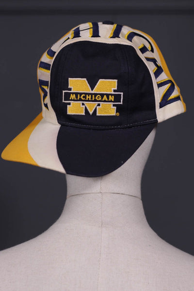 Men Yellow, White & Black Cap M Style-107 - leftover.pk