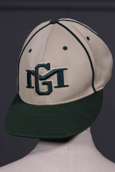 Green & Brown Mens Cap - leftover.pk