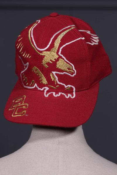 Men Red Cap Eagle-107 - leftover.pk
